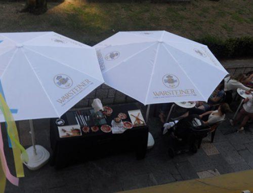 Fiesta otoñal en el callejon ( Oviedo)