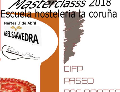 Master Class Corte de Jamón A Coruña 2018